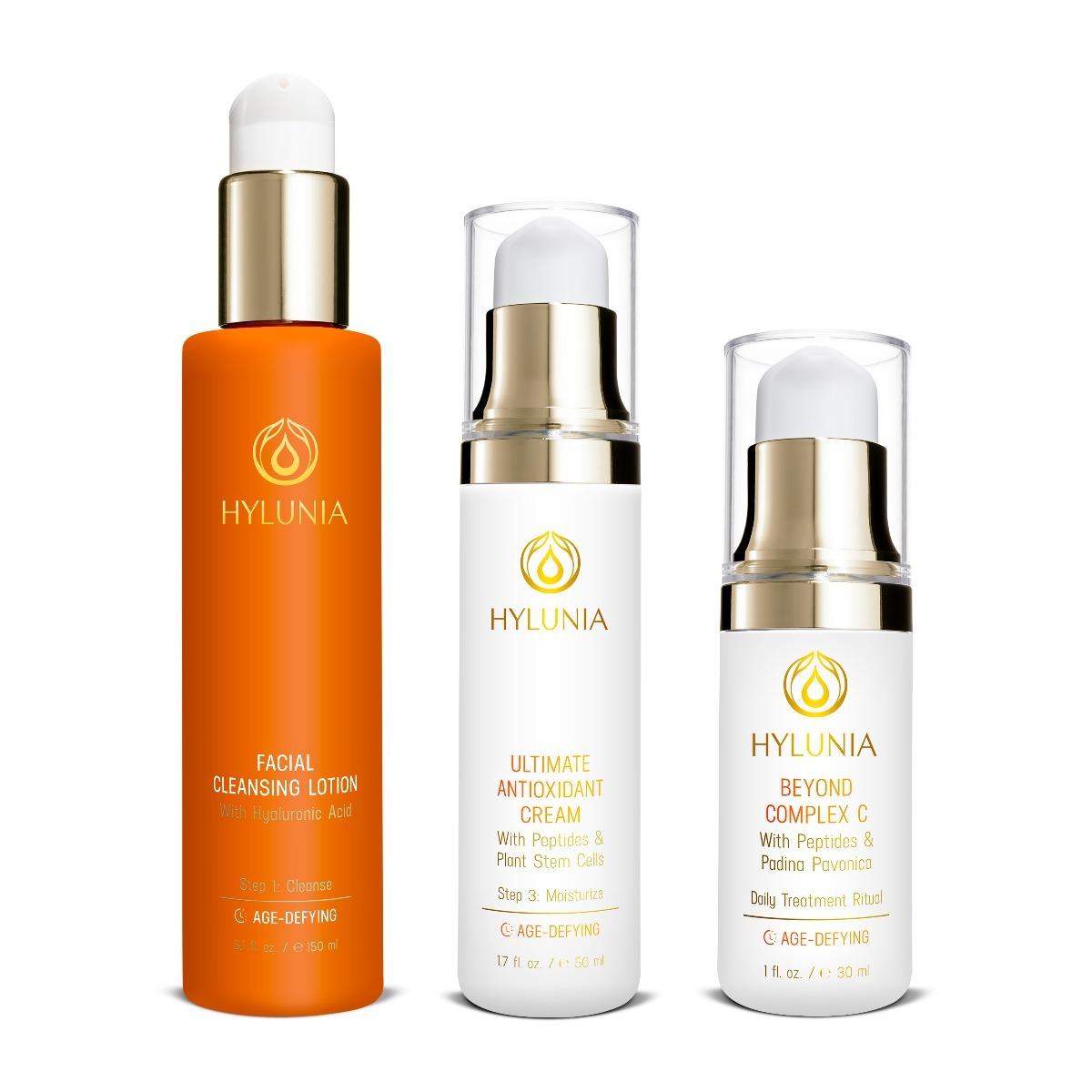 3-Step System For Dry/Sun-Damaged Skin