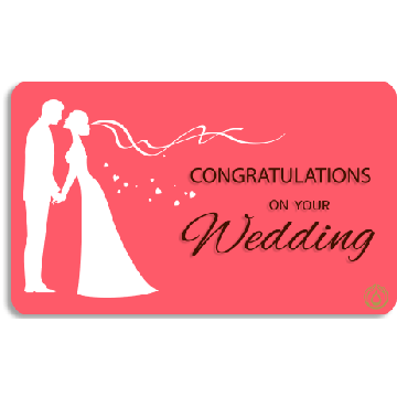 Congratulations on your Wedding!