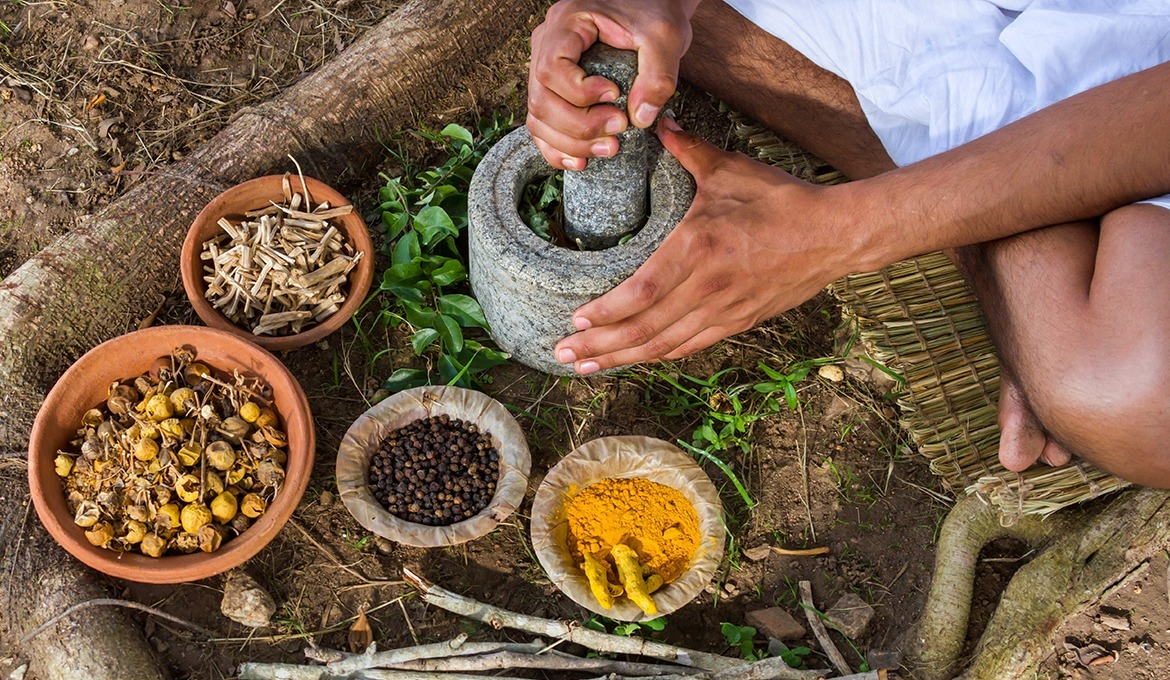 "Ayurveda is a Sanskrit word which means ""The Science of Life."""