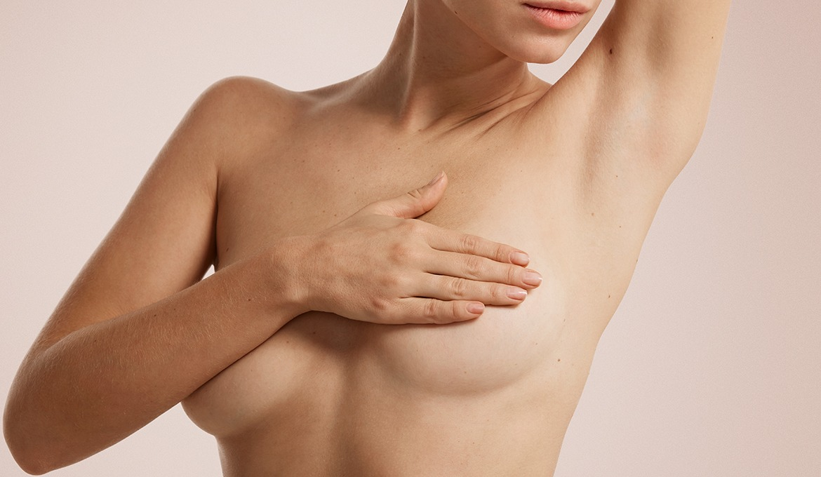 Caring for delicate breast skin