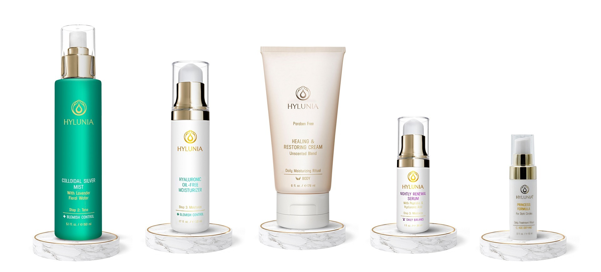 Five most loved Hylunia products